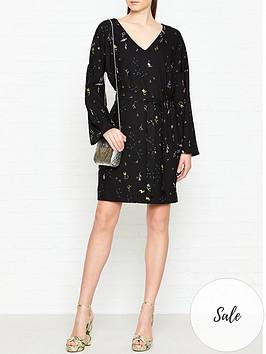 stine-goya-selma-printed-dress-black
