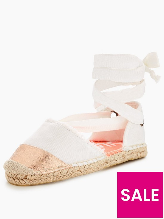 LOLA offwhite gold Espadrilles Superdry rose LUXE Superdry LOLA ESx8w6zqOE