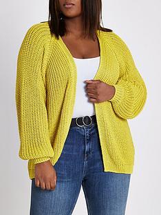 ri-plus-ri-plus-chunky-cardigan--yellow