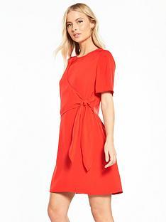 warehouse-flippy-tie-front-dress