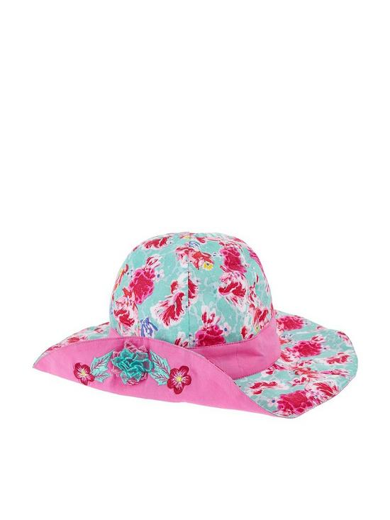 4ccf637e3 Kiko Turn Up Flower Hat