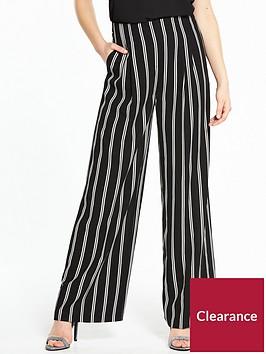miss-selfridge-stripe-wide-leg-trouser