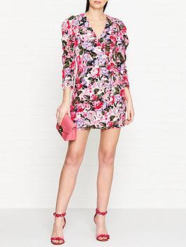 guess-rachel-floral-print-long-sleeve-dress-multicolour