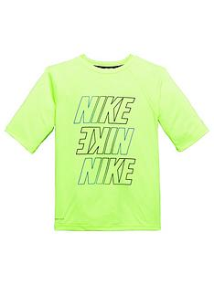 nike-nike-older-boy-half-sleeve-logo-hydroguard-top