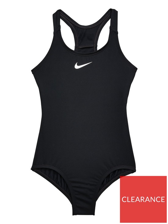 3168a343bd Nike Nike Older Girl Core Solid Racerback Swimsuit
