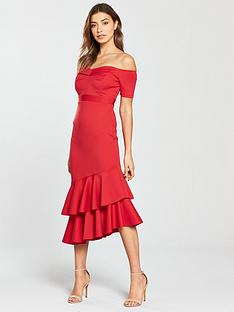 miss-selfridge-scuba-bardot-asymmetricnbsphem-midi-dress