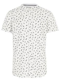 river-island-boys-white-feather-short-sleeve-grandad-shirt