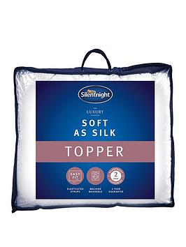 Silentnight Luxury Collection Soft As Silk Mattress Topper