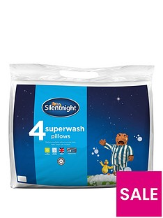 Silentnight Superwash Pillows – Pack of 4