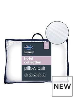 silentnight-luxury-collection-satin-stripe-pillow-pair