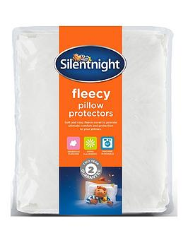 silentnight-silentnight-warm-and-cosy-fleece-pillow-protector-pair