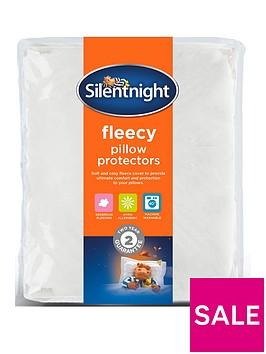 silentnight-silentnight-warm-and-cosy-fleece-pillow-protector-pair