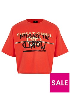 river-island-girls-red-lsquoinfluencersquo-print-cropped-t-shirt