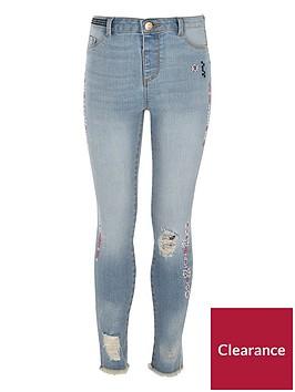 river-island-girls-blue-molly-slim-aztec-print-jeans