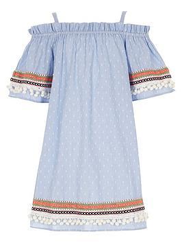 river-island-girls-blue-dobby-trapeze-dress