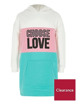 river-island-girls-green-colour-block-lsquoloversquo-hoodie-dress