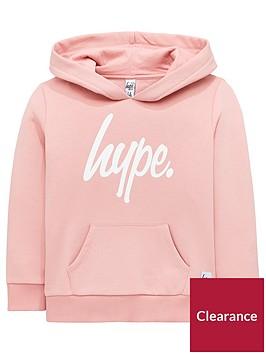 hype-girls-pink-script-hoodie