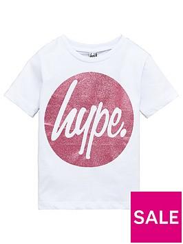 hype-girls-short-sleeved-pink-circle-circle-t-shirt