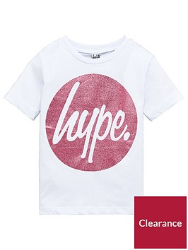 hype-girls-short-sleeved-pink-circle-glitter-t-shirt