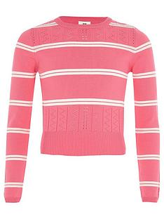 river-island-girls-pink-stripe-fitted-long-sleeve-jumper