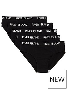 river-island-girls-black-briefs-multipack