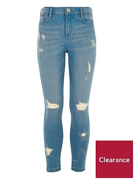 river-island-girls-blue-ripped-amelie-skinny-jeans