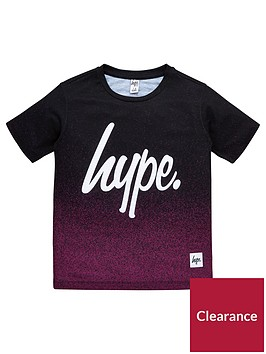 hype-boys-short-sleeved-mulberry-speckle-fade-t-shirt