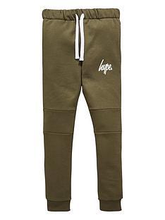 hype-boys-script-khaki-jogger