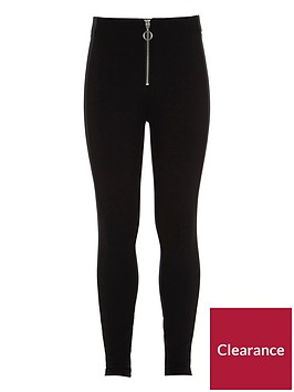 river-island-girls-black-front-zip-ponte-leggings