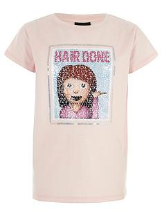 river-island-girls-hair-done-moving-sequins-t-shirt
