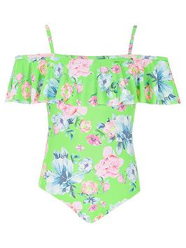 river-island-girls-green-floral-bardot-frill-swimsuit