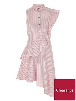 river-island-girls-pink-stripe-frill-shirt-dress