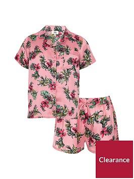 river-island-girls-pink-satin-tropical-shirt-pyjama-set