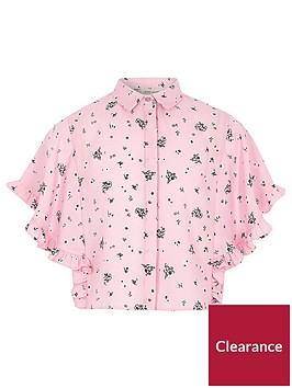 river-island-girls-pink-floral-cape-frill-sleeve-shirt