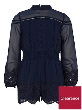 river-island-girls-navy-embroidered-playsuit