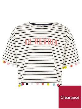 river-island-girls-white-stripe-print-pom-pom-t-shirt