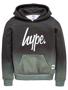 hype-boys-script-khaki-fade-hoodie