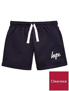 hype-boys-navy-script-jersey-short