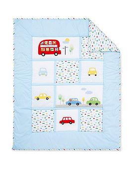mothercare-on-the-road-cot-bed-quilt