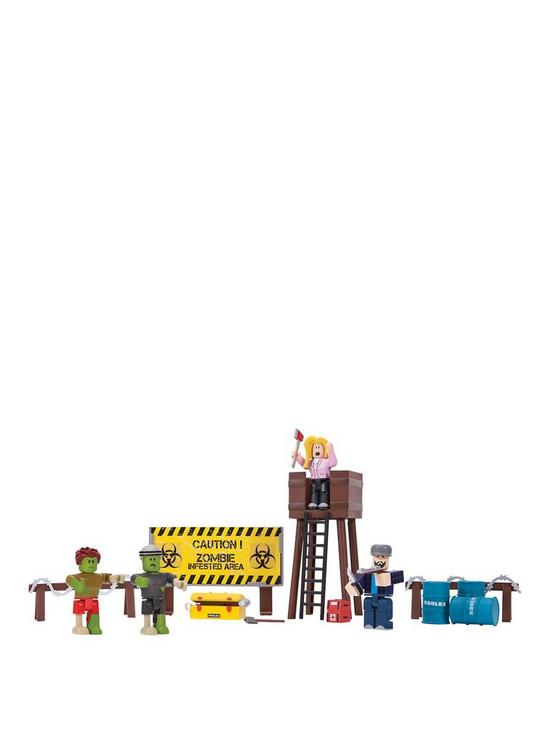 Roblox Zombie Attack Playset Very Co Uk - roblox zombie attack codes