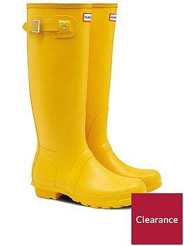 hunter-original-tall-welly-yellow