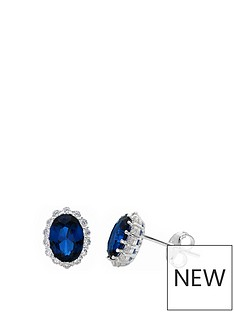 love-gem-sterling-silver-oval-blue-sapphire-colour-stone-and-white-cubic-zirconia-stud-earrings