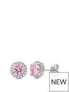 love-gem-sterling-silver-light-pink-and-white-cubic-zirconia-halo-stud-earrings