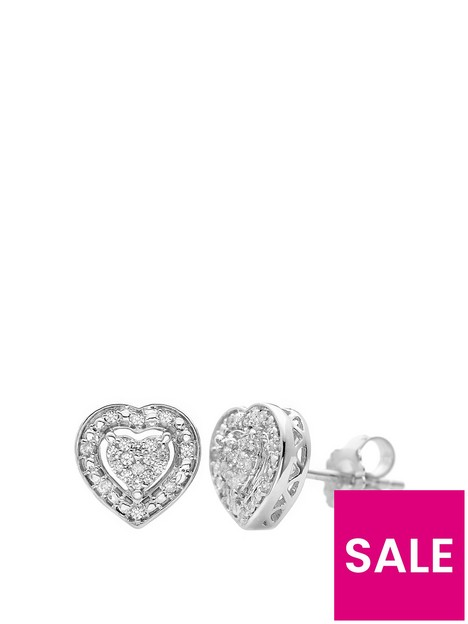 love-diamond-sterling-silver-15-point-diamond-heart-earrings