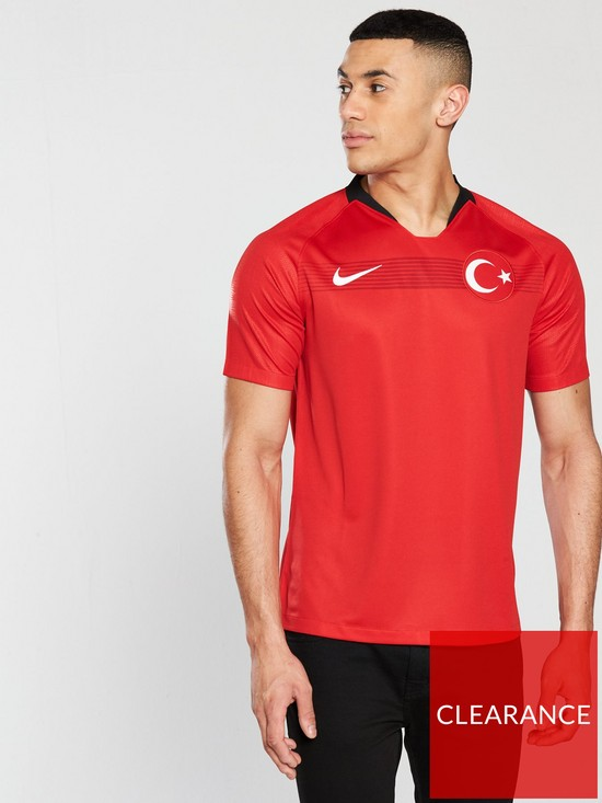 Nike Mens Turkey Home 18 19 Replica Shirt - Red  5192c6bdb