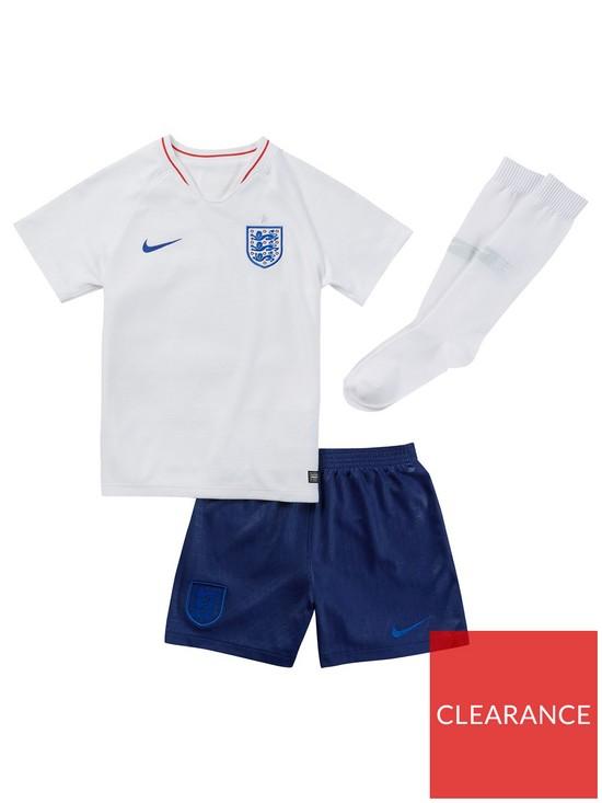 dbc92060249 Nike Little Kids 2018 England Home Kit
