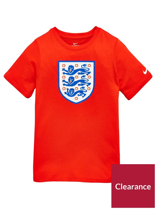 afc3177c Nike Junior England Crest Tee | very.co.uk