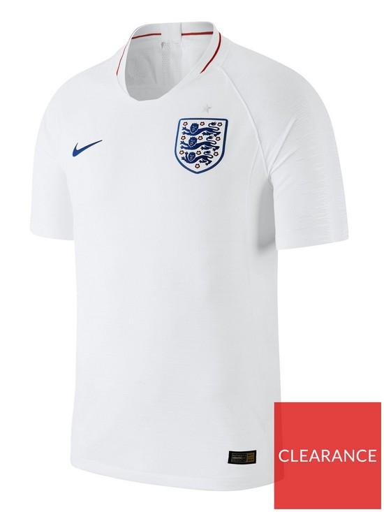 60d996748 Nike England Short Sleeve Vapor Match Shirt
