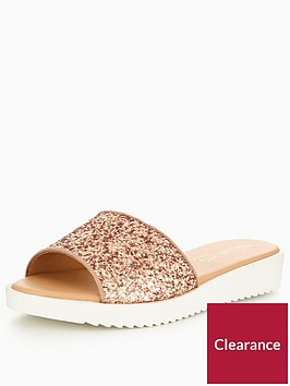 head-over-heels-legarra-glitter-strap-slider-rose-gold