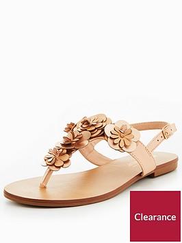 head-over-heels-lizza-3d-floral-flat-sandal-nude